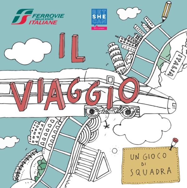 Il viaggio con Ferrovie Italiane – libro attivo